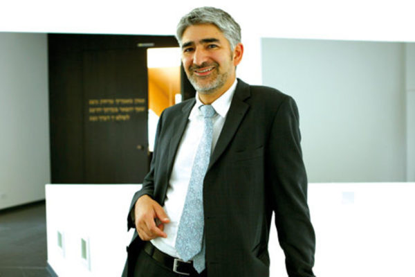 Il rabbino capo di Francoforte Chaim Soussan