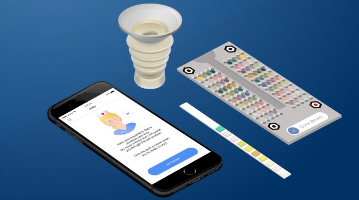 la tecnologia della startup Healthly Ourinalysis
