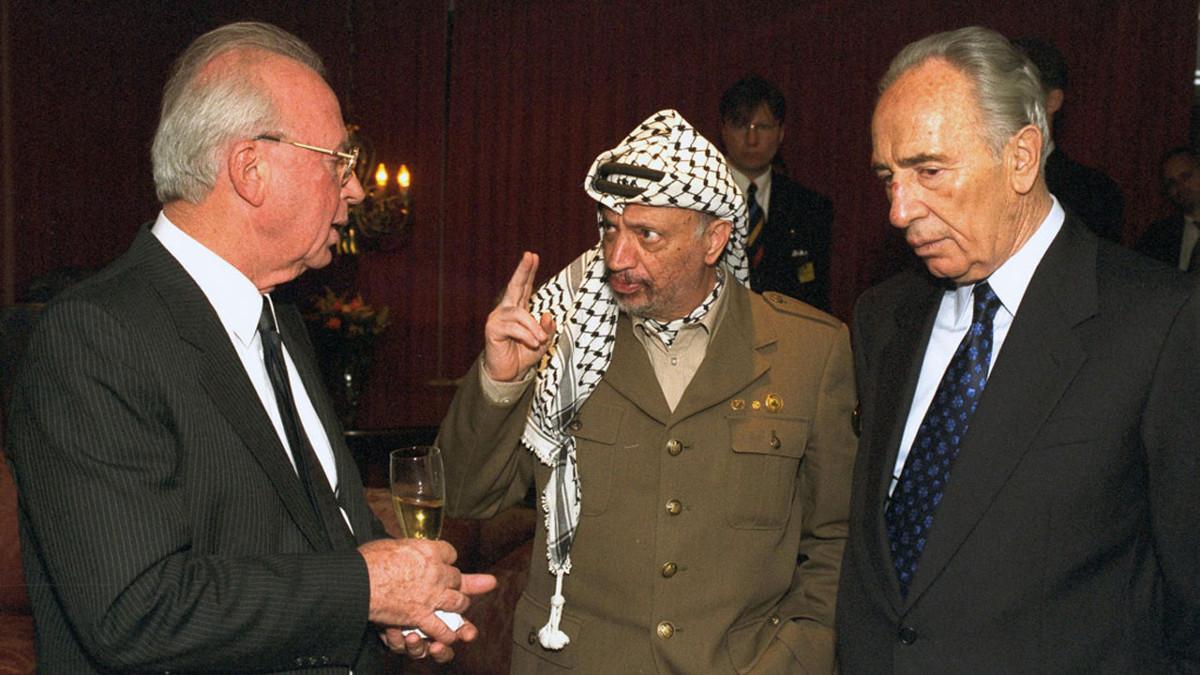 Una scena del documentario oslo Diaries sugli accordi di Oslo