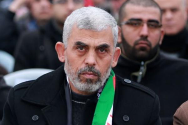 Yahia Sinwar, portavoce del braccio armato di Hamas