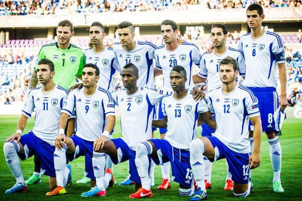 La nazionale israeliana di calcio nel 2014