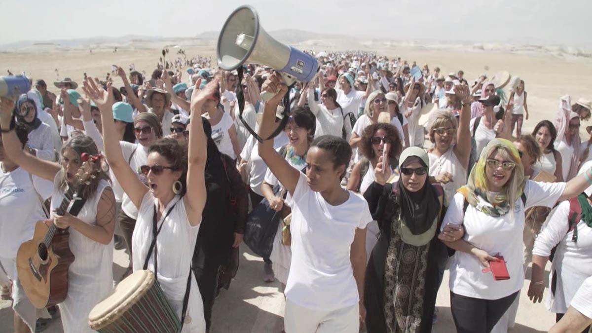 La marcia delle donne per la pace