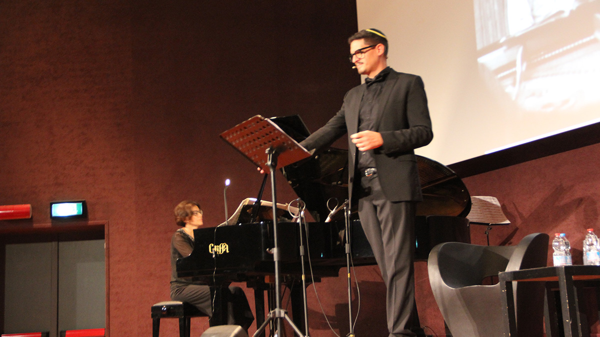 Alberto Milazzo nel suo intervento su Leonard Bernstein e George Gershwin