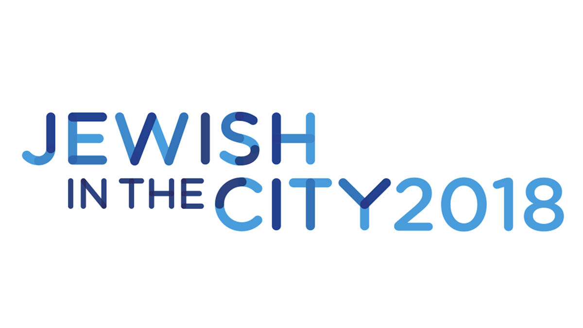 Il logo di Jewish in the city 2018