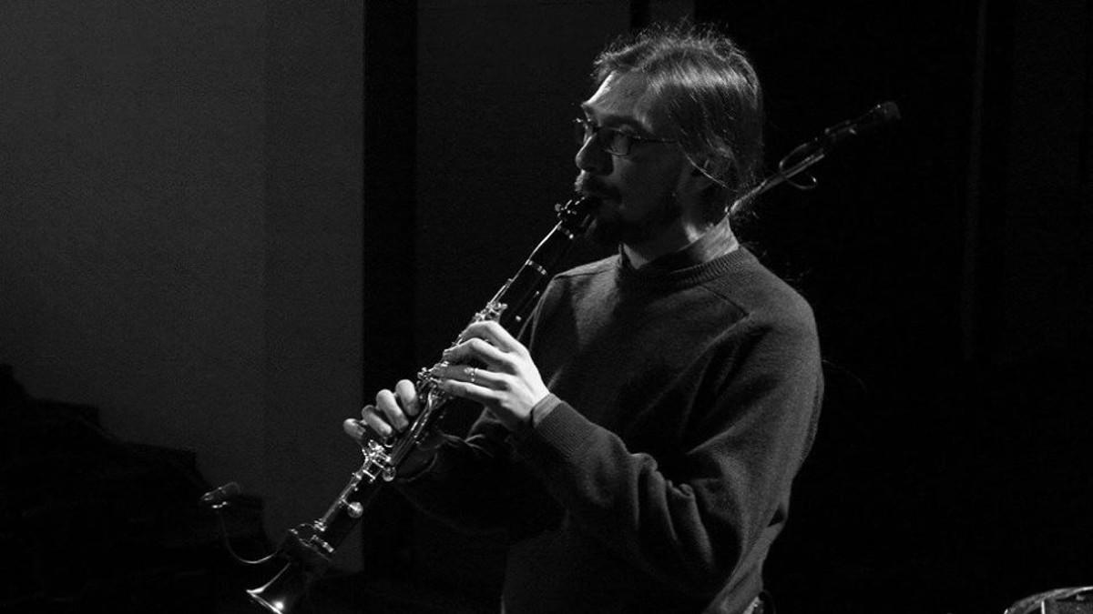 Il clarinettista Angelo Baselli