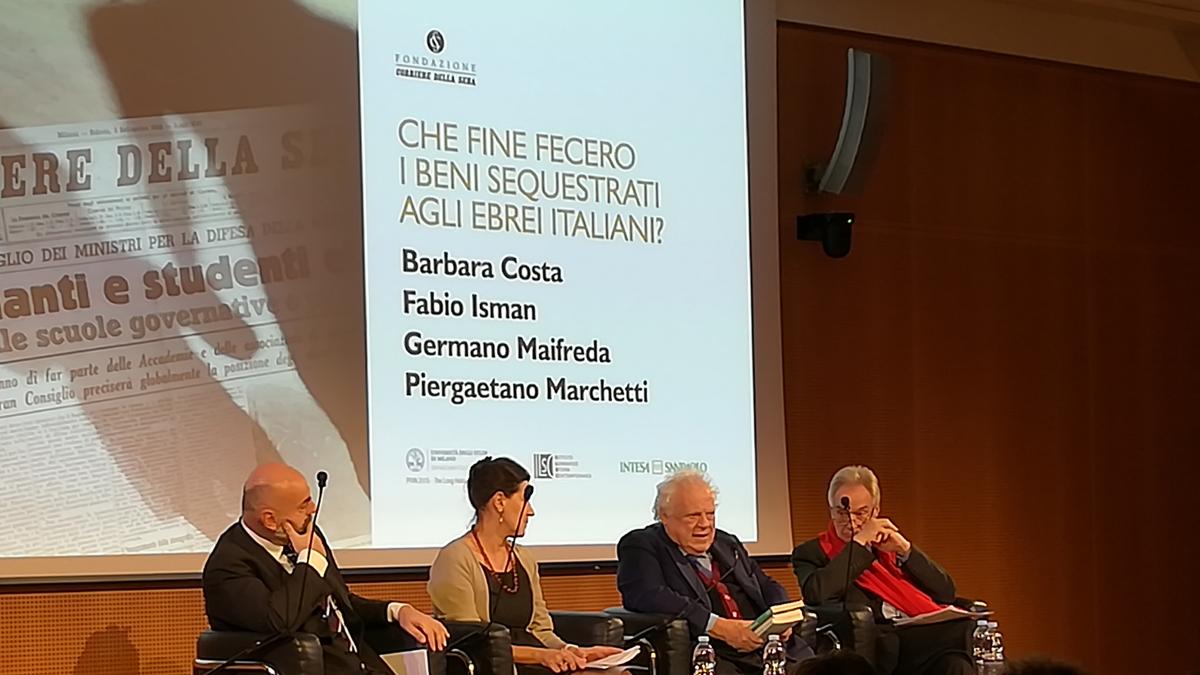 L'evento sulle leggi razziali alla Fondazione Corriere della Sera