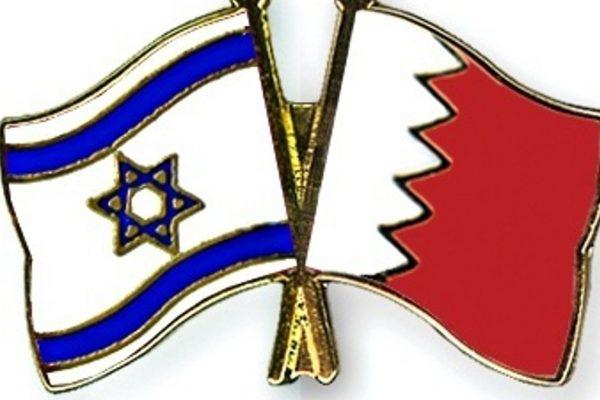 Le bandiere di Israele e Bahrein