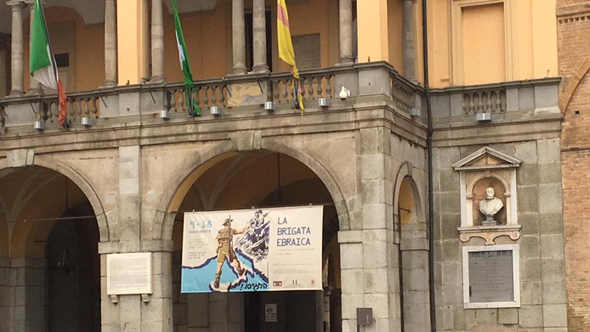 La mostra a Lodi sulla Brigata Ebraica