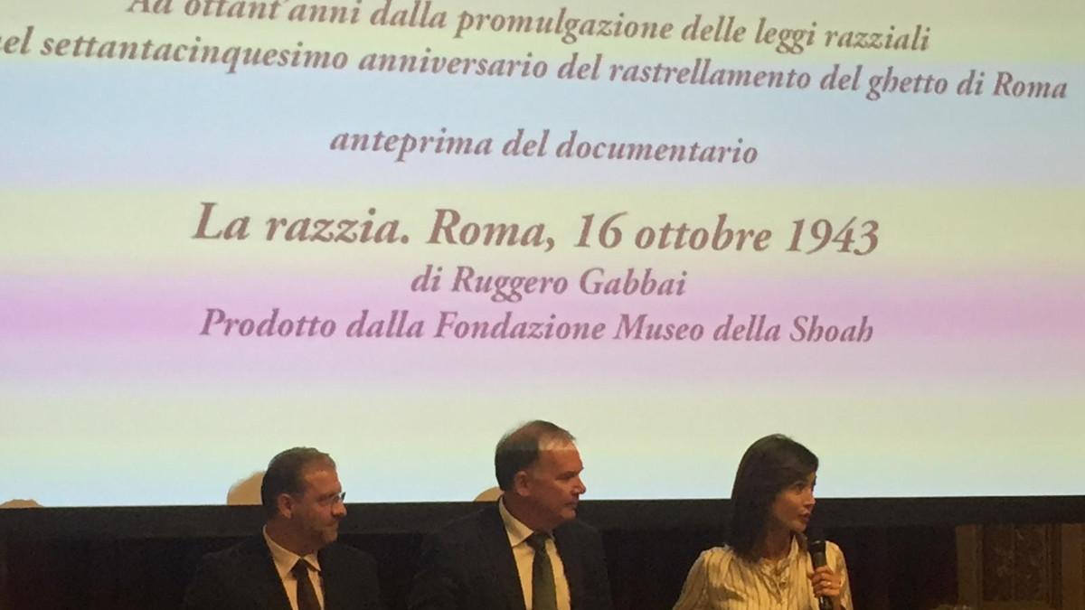 Ruggero Gabbai, Mario Veneziani e Mara Carfagna