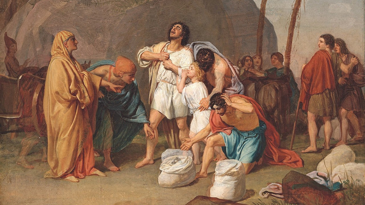 Giuseppe e i fratyelli nella parashà Vajjigash