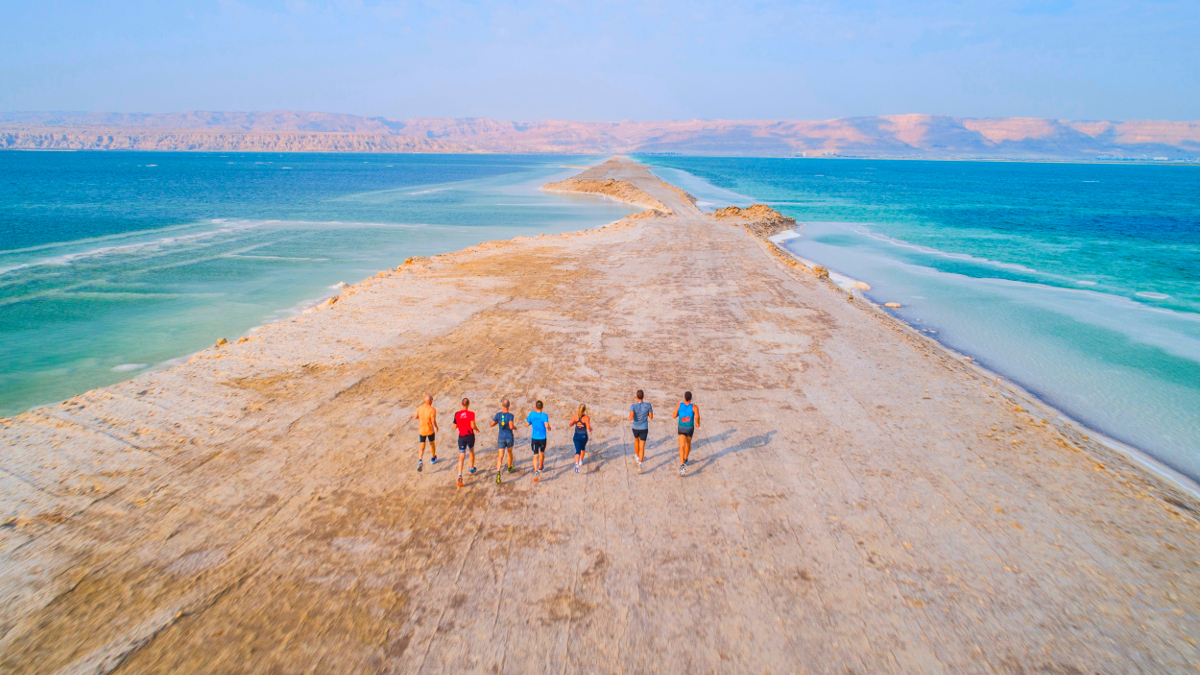 La maratona al Mar Morto