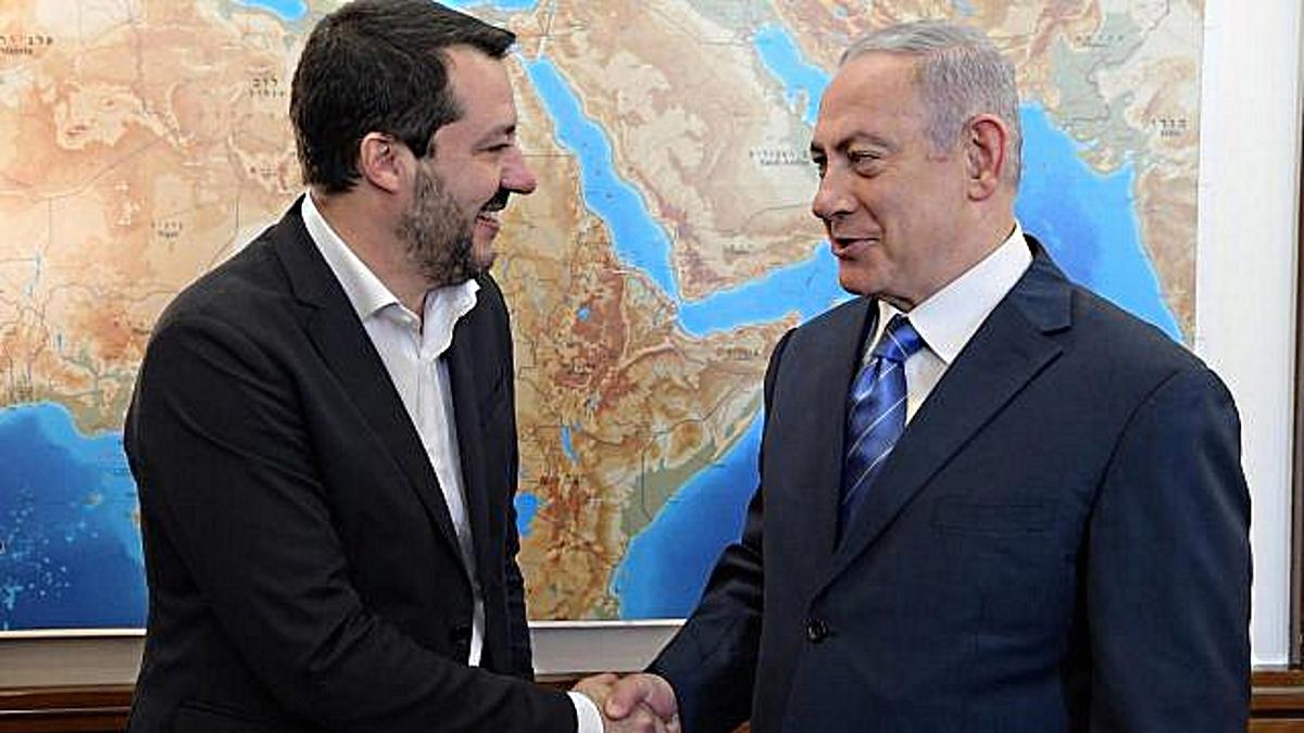 Bildergebnis für salvini israele