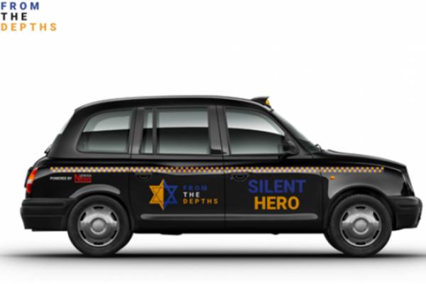 Un taxi donato a Londra a un'organizzazione polacca