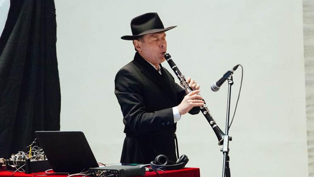Roberto Paci Dalò, musicista che esguirà il concerto Niggunim il 14 gennaio al Beth Shlomo