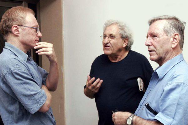 David Grossman, Amos Oz e Abraham Yehoshua