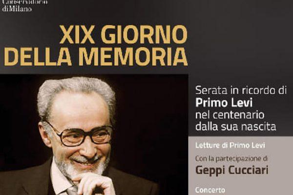 Il concerto Milano ricorda la Shoah