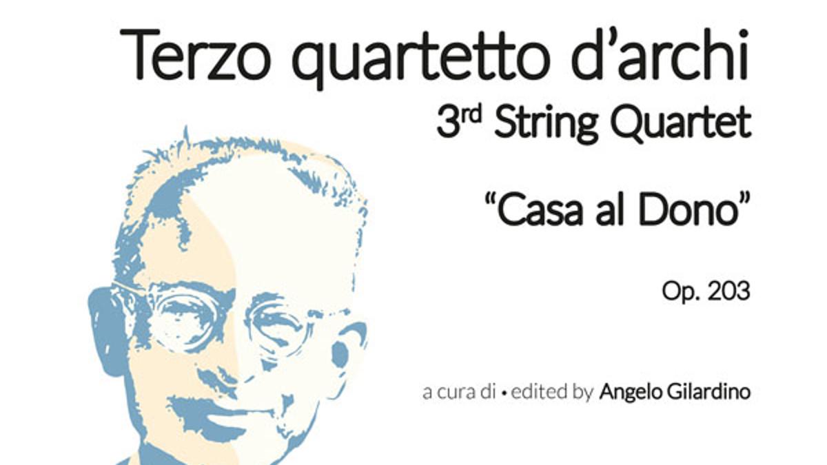 La copertina dell'Opera 203 di Castelnuovo-Tedesco