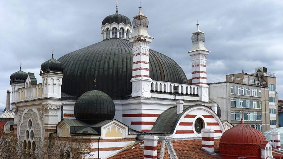 La Grande sinagoga di Sofia