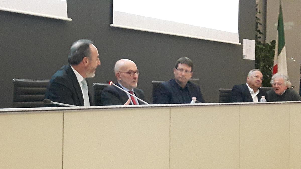 I relatori al convegno in Regione Lombardia sulla sanità lombarda e israeliana
