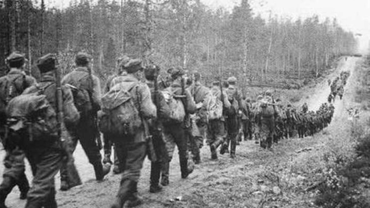 Esercito finlandese durante la 2 guerra mondiale