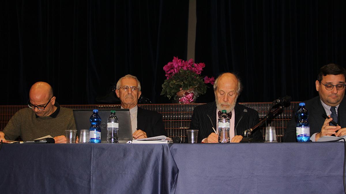 i relatori della serata del bené Berith sulla legge che definisce Israele nazione del popolo ebraico