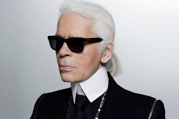Lo stilista Karl Lagerfeld