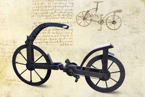Una delle opere della mostra dedicata a Leonardo da Vinci a Tel Aviv