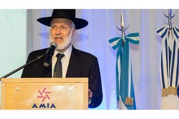 Rav Davidovich, rabbino capo di Argentina