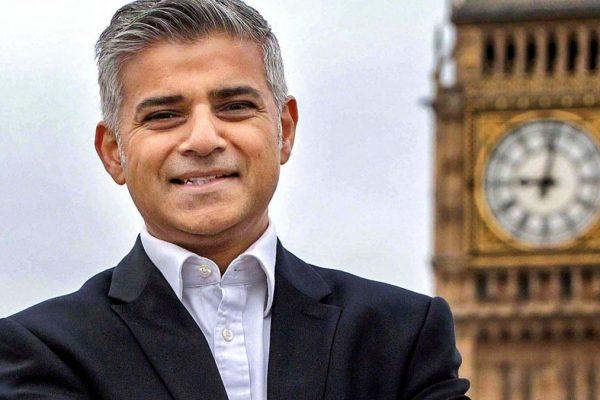 Il sindaco di Londra Sadiq Kahn