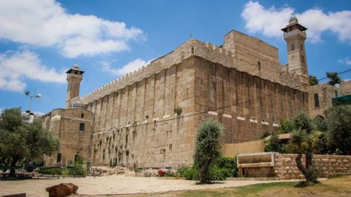 La tomba dei patriarchi a Hebron dove è stato sventato un attentato