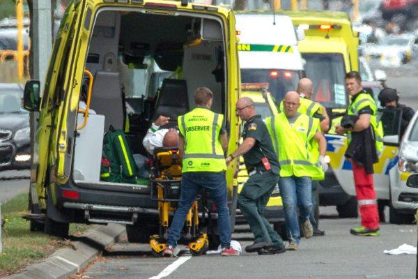 Il luogo dell'attentato in Nuova Zelanda