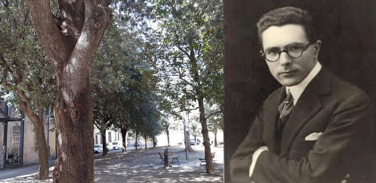 Enzo Bonaventura e il giardino a lui dedicato