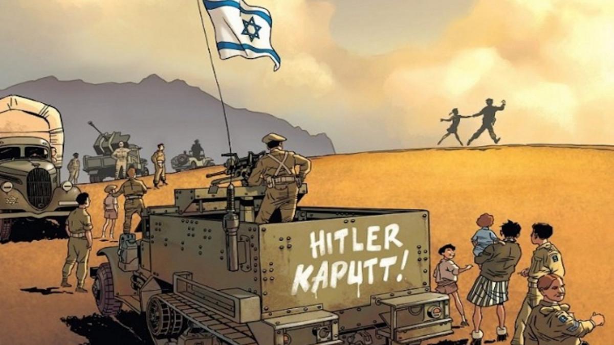 Il fumetto sulla brigata ebraica di Marvano
