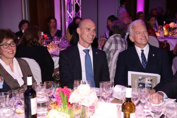 La cena di gala del Keren Hayesod