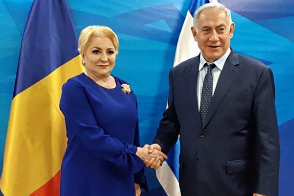 Beniamin Netanyahu e il primo ministro della Romania