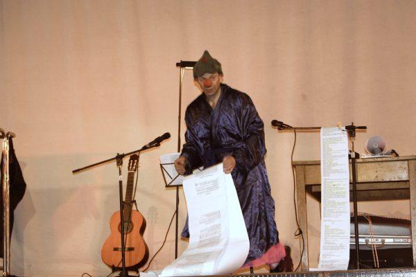 Lo spettacolo di teatro yiddish con Olek Mincer