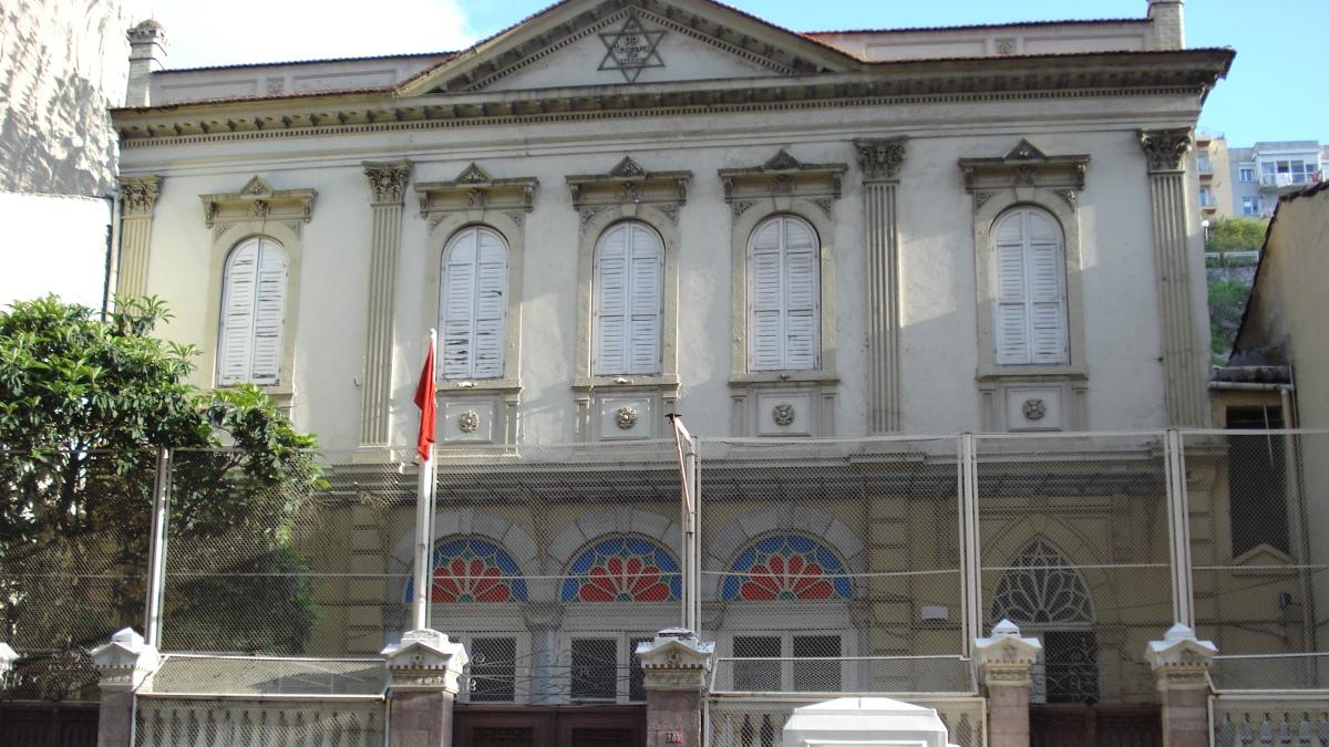 La sinagoga Bet Israel a Izmir
