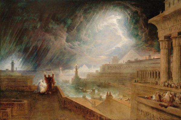 La settima delle dieci piaghe d'Egitto, la grandine