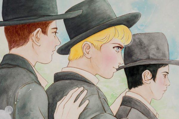 Un disegno della mostra Jewish Manga