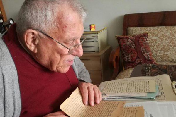 Piero Cividalli, ultimo sopravvissuto italiano della Brigata Ebraica