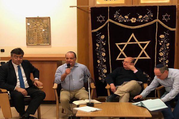 I relatori della serrata 'Esiste un populismo ebraico?'