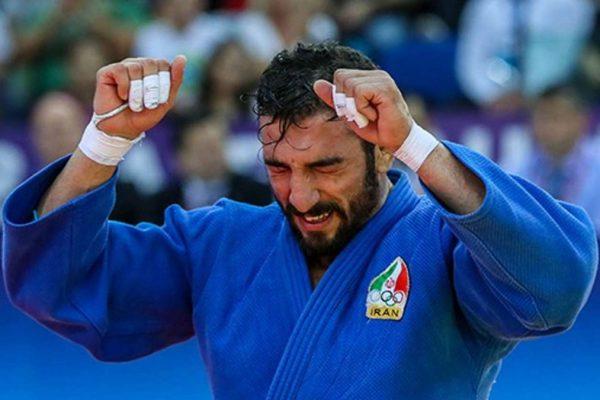 Un judoka iraniano