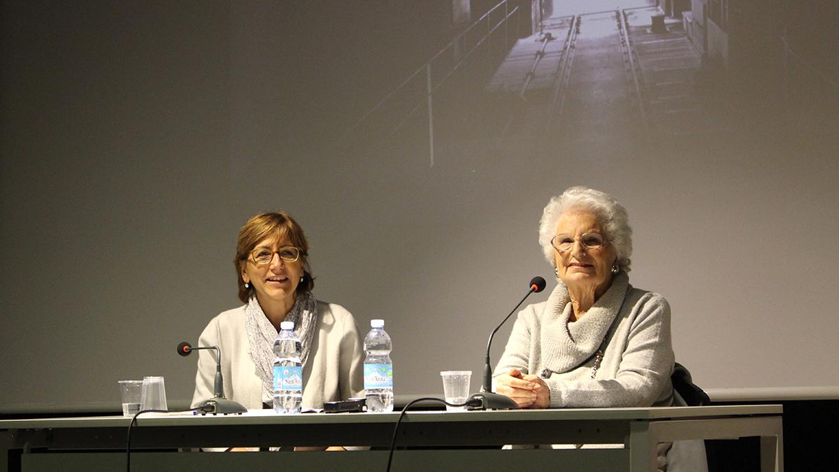 Liliana Segre e Milena Santerini