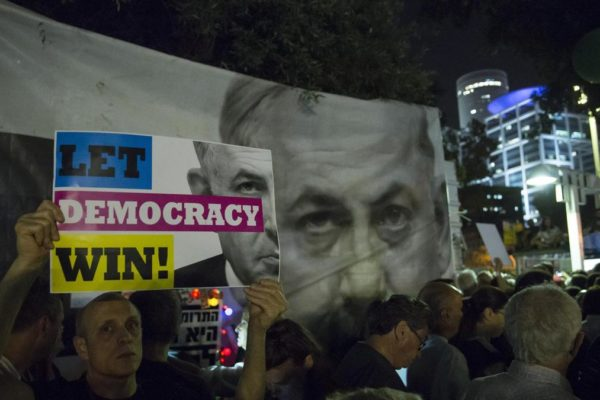 La manifestazione contro Netanyahu il 26 maggio a Tel Aviv