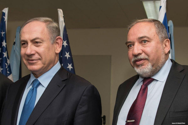 Beniamin Netanyahu e Avigdor Lieberman