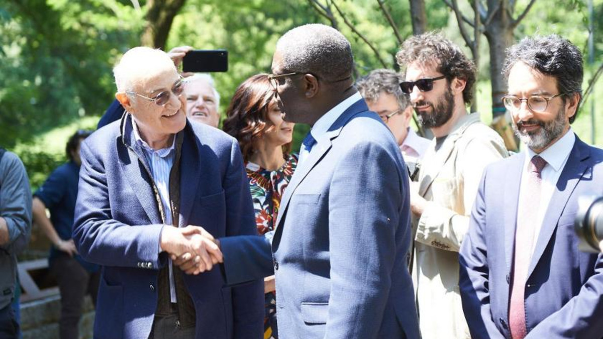 Gabriele Nissim e Denis Mukwege