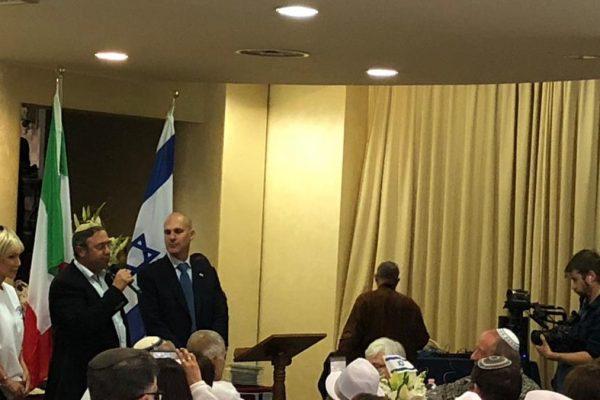Genitori dei soldati israeliani uccisi all'evento al Noam