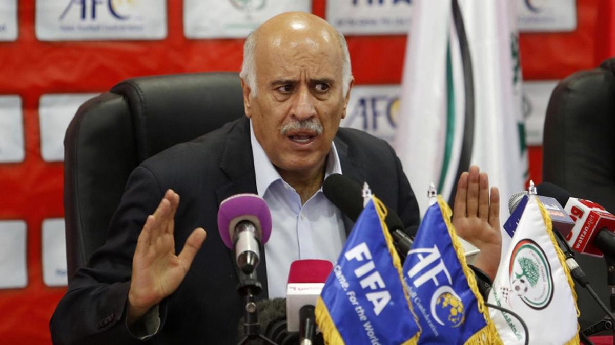 Jabril Rajoub è indagato dalla FIFA