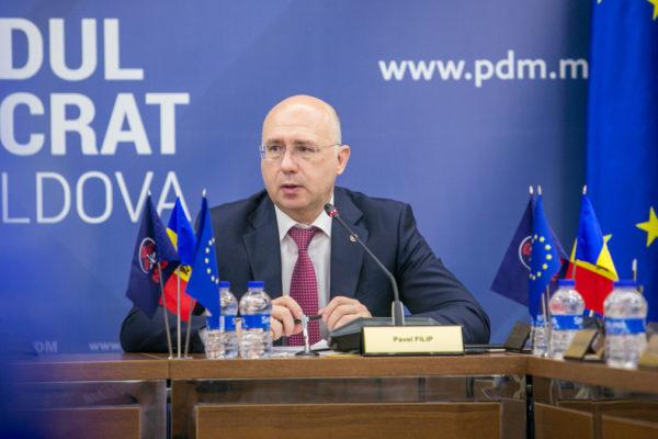 Il primo ministero ad interim della Moldavia