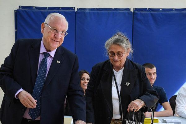Reuven Rivlin con la moglie Nechama